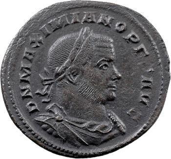 Maximien Hercule, follis, Trèves, 307