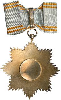 Comores, Ordre Royal de l'Étoile d'Anjouan, bijou de Commandeur