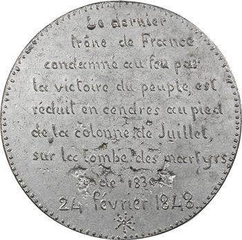 IIe République, la chute de la royauté, 1848 Paris