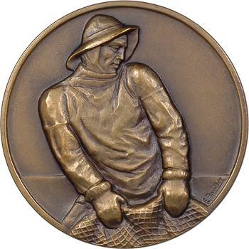 Ve République, Trophée de la grande pêche, par Bouillot, 1958
