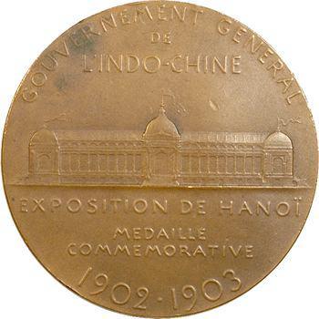 Indochine, Annam-Tonkin, exposition de Hanoï, par Oscar Roty, 1902-1903 Paris