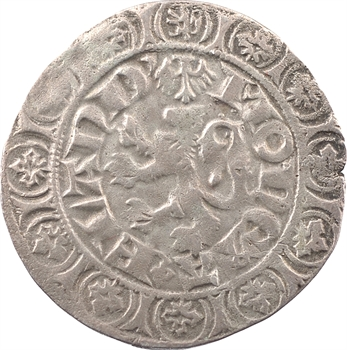 Flandres (comté de), Louis de Crécy, gros au lion, Gand