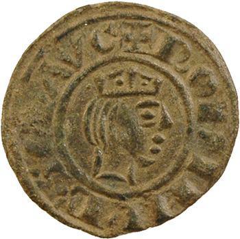 Italie, Sicile (royaume de), Frédéric II, denier, c.1243 Messine