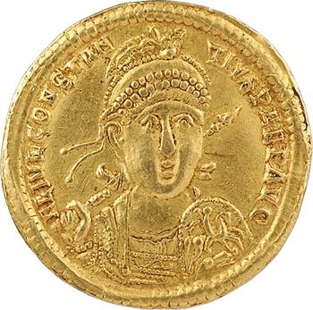 Constance II, solidus, Antioche, 10e officine, 354