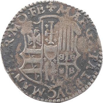 Italie, Casale, François III Gonzague, cavallotto aux deux écus, s.d. (1540-1550)