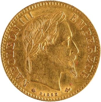 Second Empire, 10 francs tête laurée, 1867 Paris
