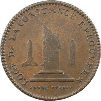 Orient de Paris, la Constance Éprouvée, 5785 (avant 1812) Paris