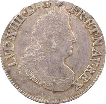 Louis XIV, demi-écu aux palmes, 1694 Amiens
