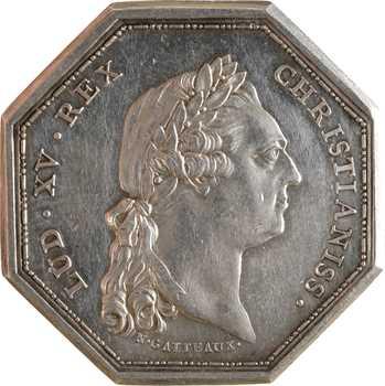 Afrique, Louis XV, Compagnie royale d'Afrique, par N. Gatteaux, 1774 Aix-en-Provence