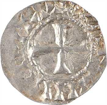 Orléans (vicomté d'), au nom de Raoul, denier immobilisé, Orléans, s.d. (c.950-980)