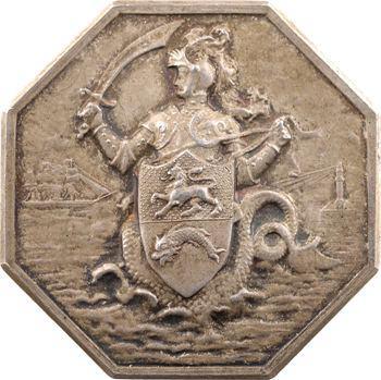 IIIe République, jeton des transitaires du port de Dunkerque, s.d. (après 1880) Paris