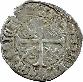 Charles VII, blanc à la couronnelle, Chinon