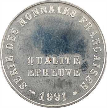 Ve République, frappe au module de 20 francs, 1991 Pessac