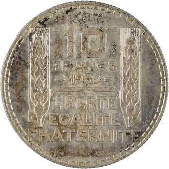 IIIe République, 10 francs Turin, 1939 Paris
