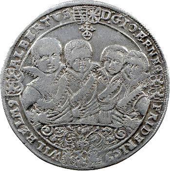 Allemagne, Saxe-Weimar, règne des huit frères, thaler 1613