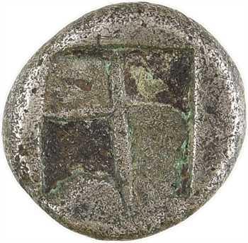 Marseille, trihémiobole ou litra, type du Trésor d'Auriol, c.480-470 av. J.-C