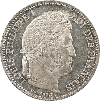 Louis-Philippe Ier, 1 franc, 1832 Paris PROOF