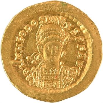 Théodose II, solidus, Constantinople, 441-450