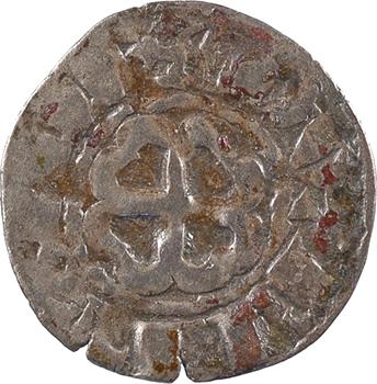 Bretagne (duché de), anonymes sous Constance, Arthur et Guy de Thouars, denier, s.d. Rennes