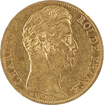 Charles X, 20 francs, 5 feuilles, 1827 Paris