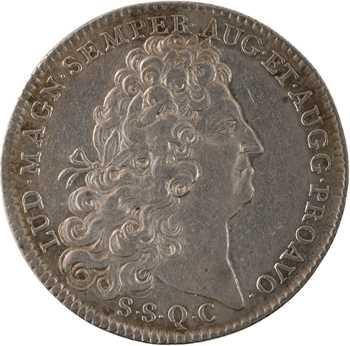 Louis XIV, Normandie, la ville de Rouen, 1707 Paris