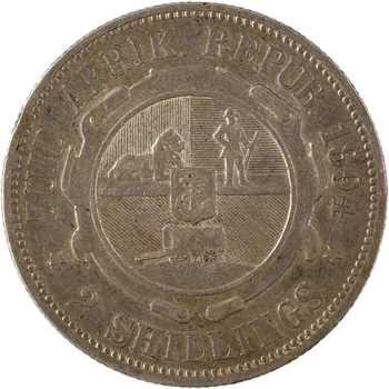 Afrique du Sud, République du Transvaal, 2 shillings, 1894
