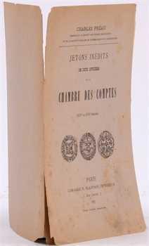 Préau (Ch.), Jetons inédits de deux officiers de la Chambre des Comptes, Paris 1887