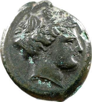 Lucanie, obole en bronze, Métaponte, c.350-300 av. J.-C.
