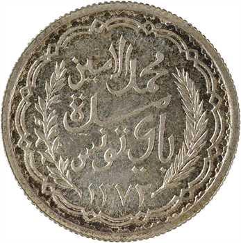 Tunisie (Protectorat français), Mohamed Lamine, 10 francs, 1952 Paris