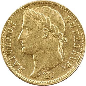 Premier Empire, 20 Francs Empire, 1812 Paris