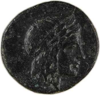 Ionie, Colophon, bronze AE14, c.360-330 av. J.-C