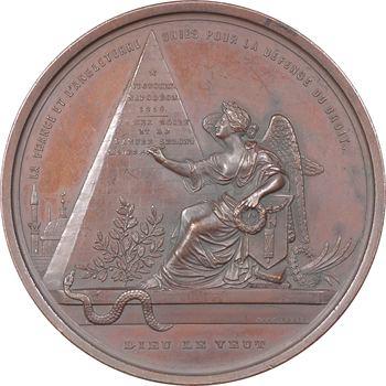 Turquie/Russie, Abdülmecid Ier, entrée en guerre de la Triple alliance (France/Royaume-Uni/Turquie) contre la Russie, 1854 Bruxelles (Hart)