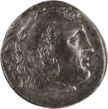 Macédoine, au nom d'Alexandre le Grand, tétradrachme, Aspendos, An 23 = c.190-189 av. J.-C