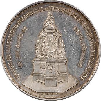 IIIe République, statue de G. de Forceville à Amiens, vers 1881, Paris