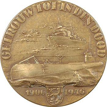 Pays-Bas, 40ème anniversaire de la navigation sous-marine, 1906-1946