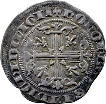 Provence (comté de), frappe posthume au nom de Robert d'Anjou, Carlin ou Gillat immobilisé