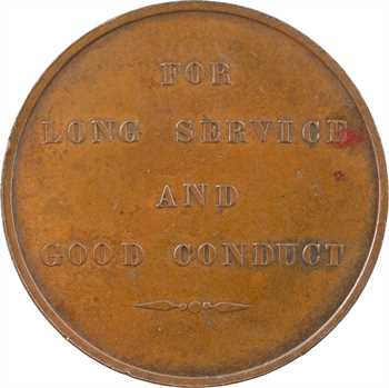Royaume-Uni, Victoria, For Long Service and Good Conduct, attribuée, 1862 Londres