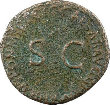 Germanicus, as, Rome, 37-38 (restitution de Caligula)