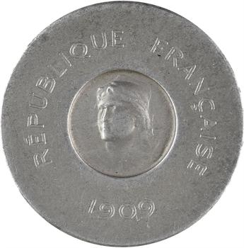 IIIe République, essai de 25 centimes par Rude, 1909