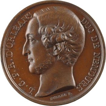 Louis-Philippe Ier, Louis d'Orléans, duc de Nemours, 1845 Paris