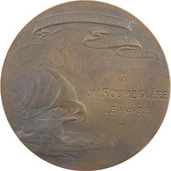 Mer : la Ligue Maritime Coloniale Française, hommage nominatif, Le Havre, s.d