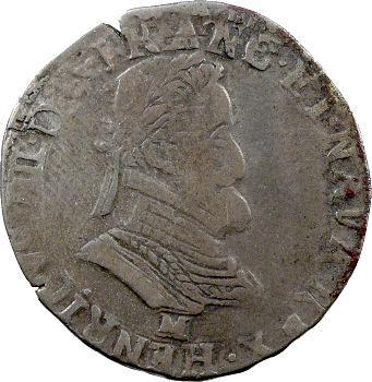 Henri IV, demi-franc, 1603 Toulouse