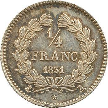 Louis-Philippe Ier, 1/4 franc, 1831 Paris