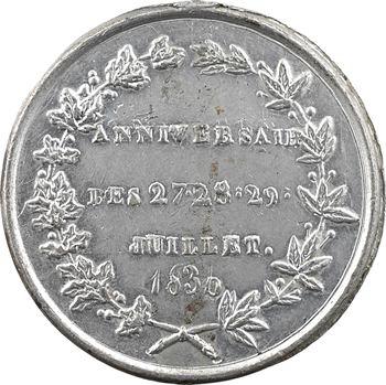 Louis-Philippe Ier, anniversaire des journées de juillet 1830, 1831/0 Paris