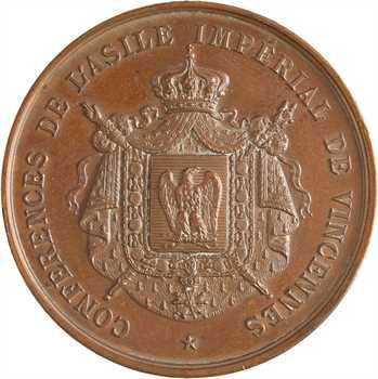 Second Empire, Eugénie, commémoration de la conférence de l'Asile Impérial de Vincennes, s.d. Paris