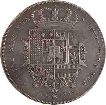 Italie, Étrurie (royaume d'), Charles-Louis, Francescone, 1806 Florence