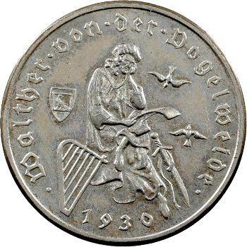 Allemagne (Empire d'), 3 reichsmark, 1930 Berlin