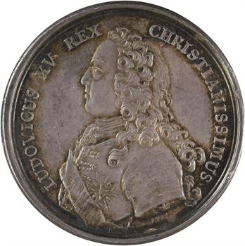 Louis XV, la chasse du Roi, en argent, 1725 Paris