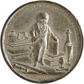 Royaume-Uni, le Général Charles S. Stretton dit Tom Pouce, 1844 Birmingham