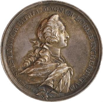 Danemark, mariage du Prince Frédéric de Danemark avec Louise d'Angleterre, 1743